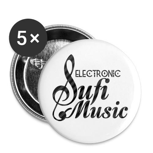 electronicsufi 4000 - Buttons small 1''/25 mm (5-pack)