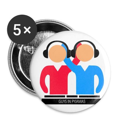 Guys In Pyjamas Logo - Buttons klein 25 mm (5er Pack)