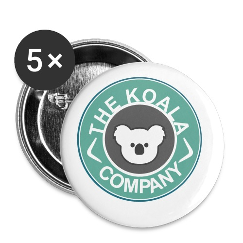 Der Koala Co. - Buttons klein 25 mm (5er Pack)