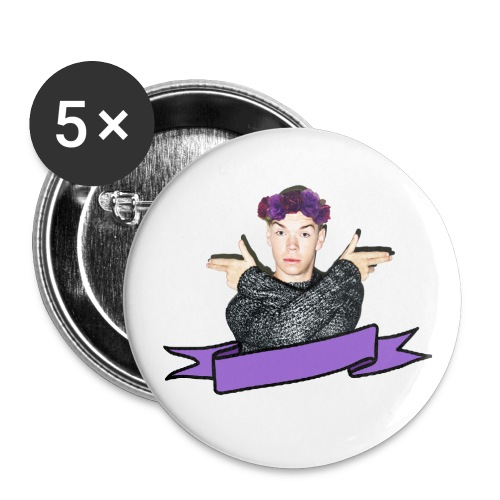 WILL - Buttons small 1''/25 mm (5-pack)