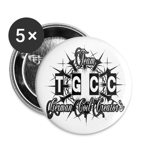 TGCC v8 - Buttons klein 25 mm (5er Pack)