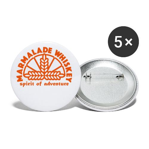 Marmalade Whiskey - Buttons small 1''/25 mm (5-pack)