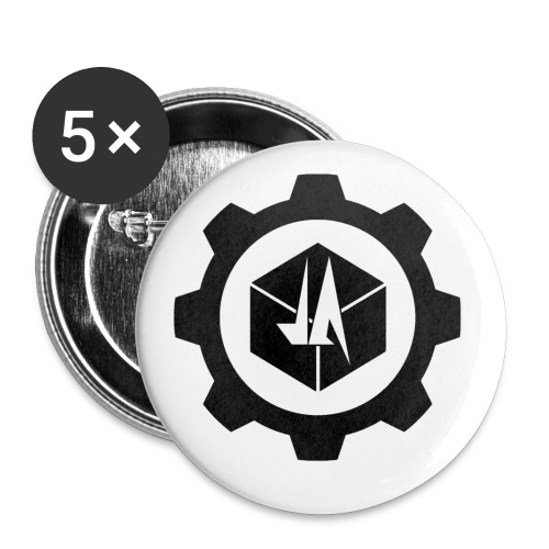 Jebus Adventures Logo (Transparent) - Buttons small 1''/25 mm (5-pack)
