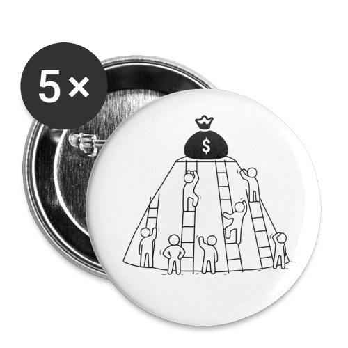 To The Top! - Buttons small 1''/25 mm (5-pack)
