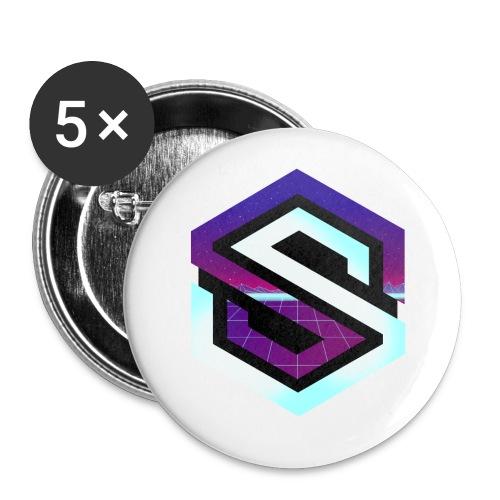 Rétro Wave - Badge petit 25 mm