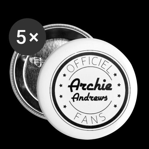 Officiel Archie Andrews Fans - Lot de 5 petits badges (25 mm)