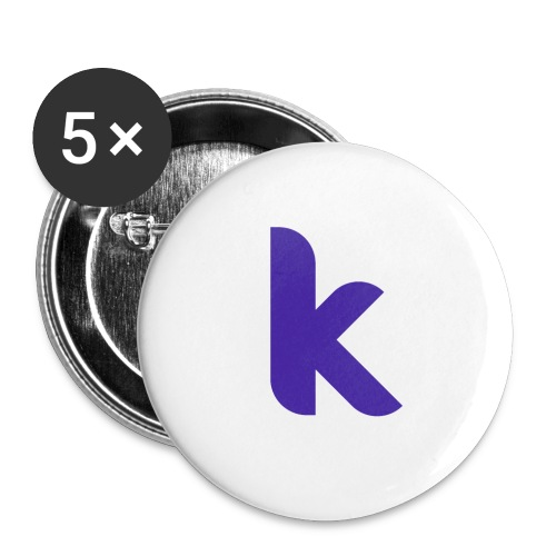 Classic Rounded Inverted - Buttons small 25 mm