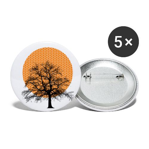 Dots Tree - Buttons klein 25 mm (5er Pack)