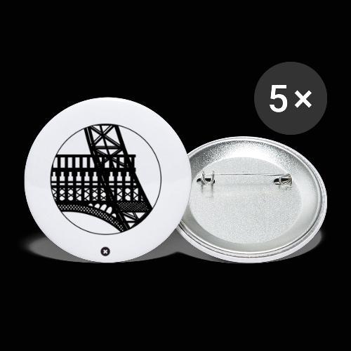 La Tour de Fer - Lot de 5 petits badges (25 mm)