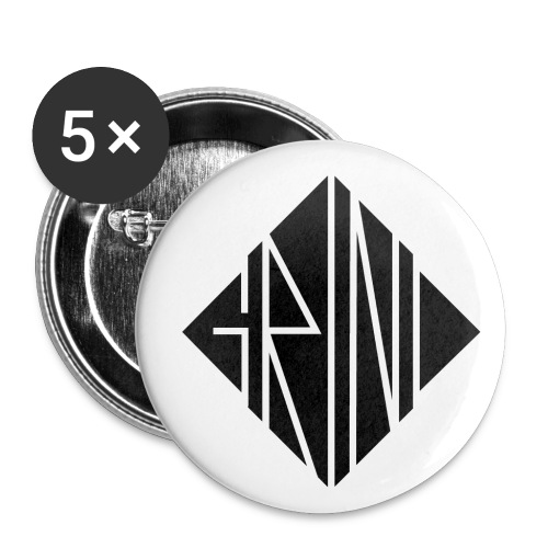 LOGO Line - Buttons klein 25 mm (5er Pack)
