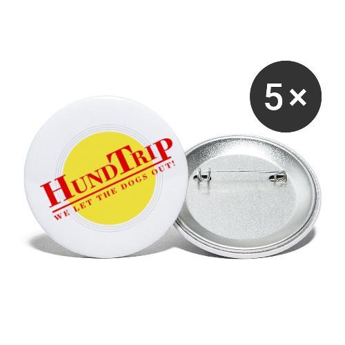 HundTrip - Små knappar 25 mm (5-pack)