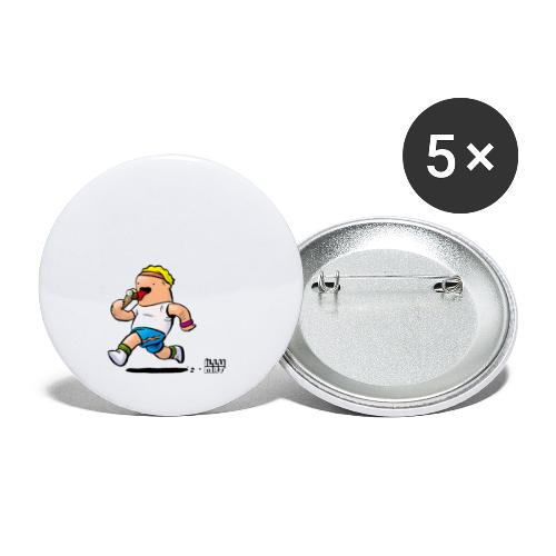 STE 0007 00 Eisdiaet - Buttons klein 25 mm (5er Pack)