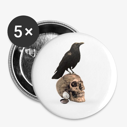 The Darkest Hour Design 1 - Buttons small 1''/25 mm (5-pack)