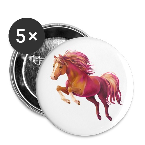 Cory the Pony - Buttons klein 25 mm (5er Pack)