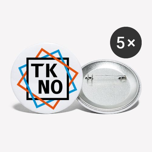 TKNO - Buttons klein 25 mm (5er Pack)