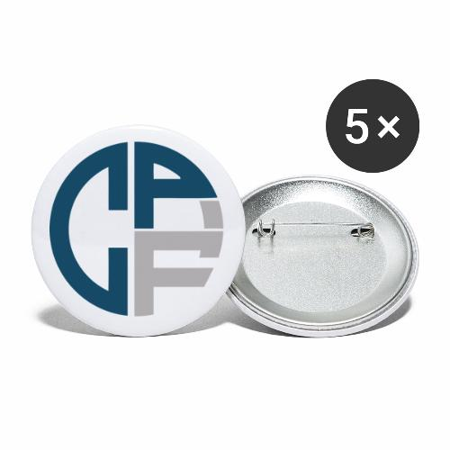 Clato Pictures - Buttons klein 25 mm (5er Pack)