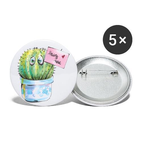 hug me - Buttons klein 25 mm (5er Pack)