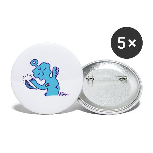 Entité Apaisante - Lot de 5 petits badges (25 mm)