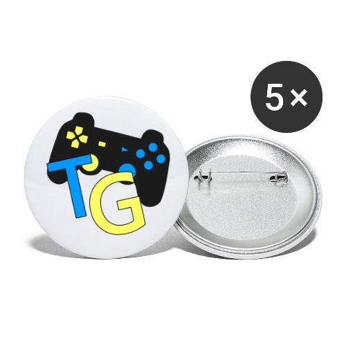 logoTG - Przypinka mała 25 mm (pakiet 5 szt.)