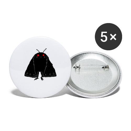 Mothman is real - Confezione da 5 spille piccole (25 mm)