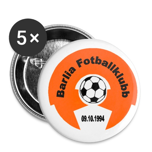 bfklogotranserent - Liten pin 25 mm (5-er pakke)