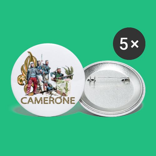 camerone1 - Lot de 5 petits badges (25 mm)