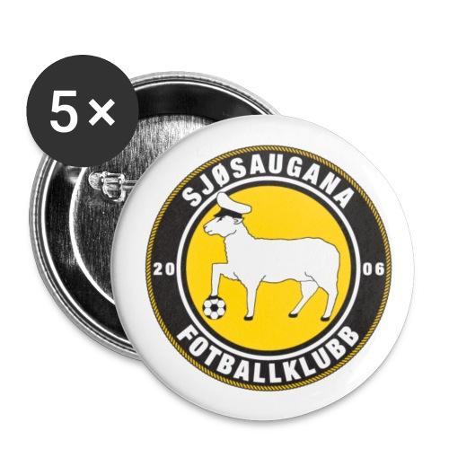 sjsaugana logoen - Liten pin 25 mm (5-er pakke)