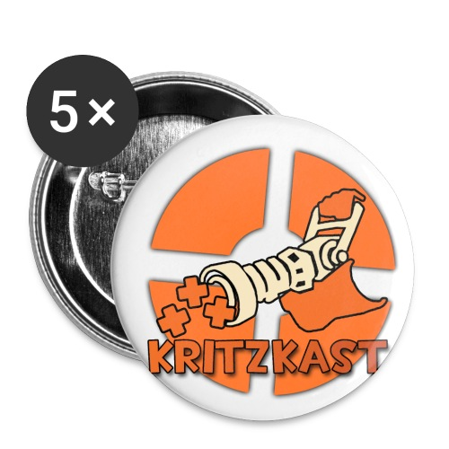 logo 2000x2000 - Buttons small 1''/25 mm (5-pack)