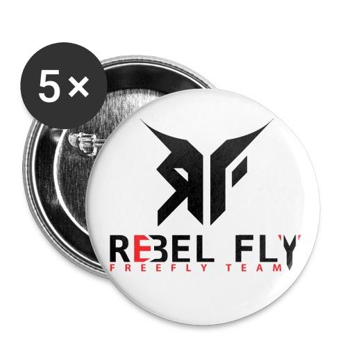 RFFT PrintSvart png - Liten pin 25 mm (5-er pakke)