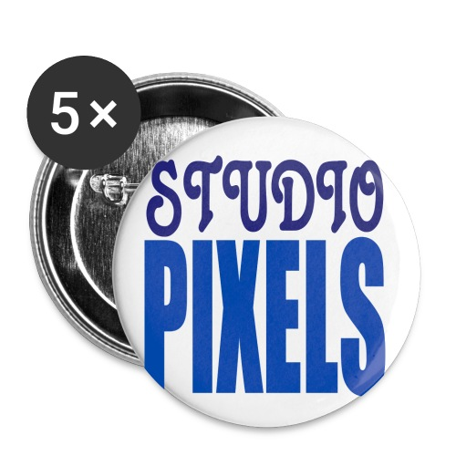 Logo couleurs png - Lot de 5 petits badges (25 mm)