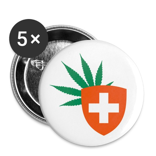CH420 Logo - Buttons klein 25 mm (5er Pack)