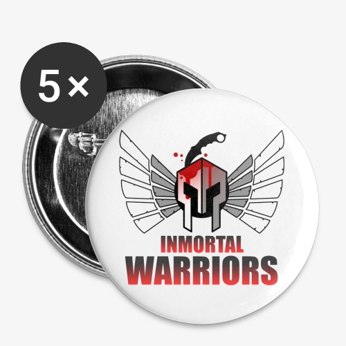 The Inmortal Warriors Team - Buttons small 1''/25 mm (5-pack)