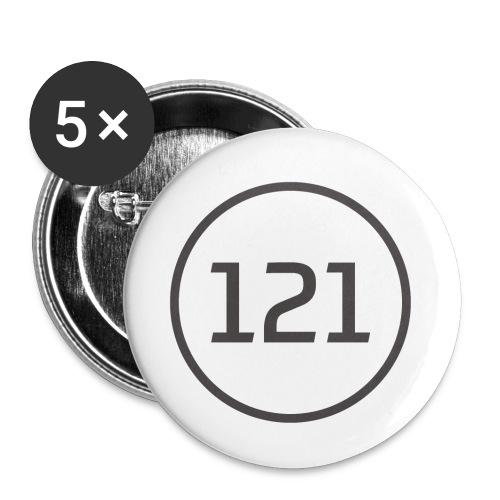 Tuner121 2018 png - Buttons klein 25 mm (5er Pack)