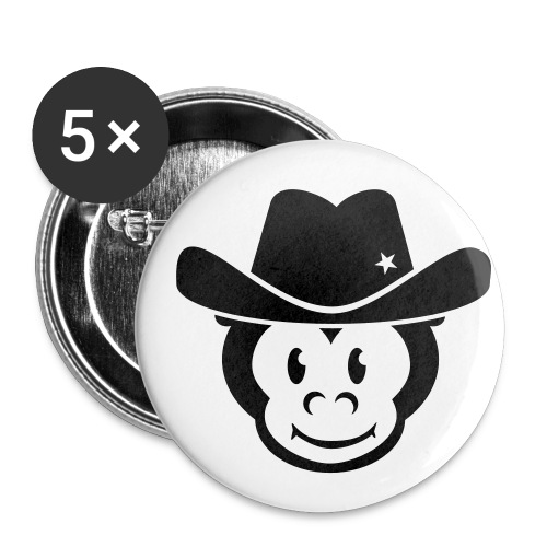 Kids Bootmonkey Klein - Buttons klein 25 mm (5er Pack)