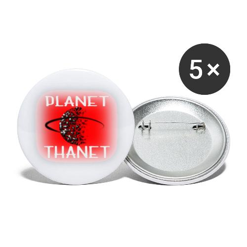 Planet Thanet - Made in Margate - Buttons small 1''/25 mm (5-pack)