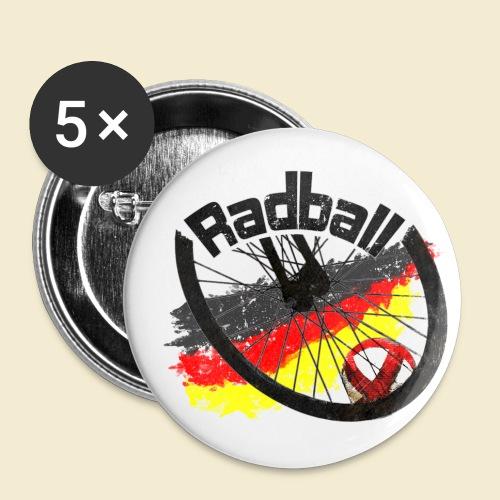 Radball | Deutschland - Buttons klein 25 mm