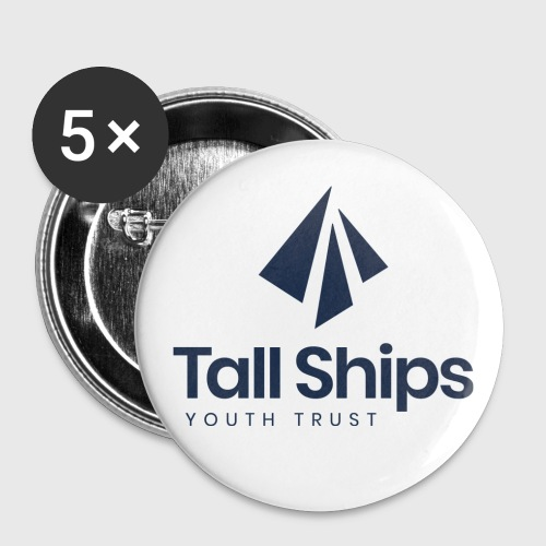 Tall Ships Youth Trust Branded - Buttons small 1''/25 mm (5-pack)
