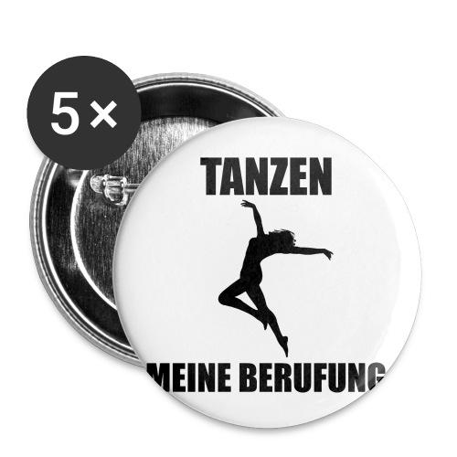 MEINE BERUFUNG Tanzen - Buttons klein 25 mm (5er Pack)