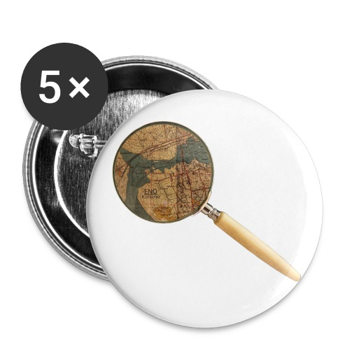 Etsivä löytää Enon - Rintamerkit pienet 25 mm (5kpl pakkauksessa)