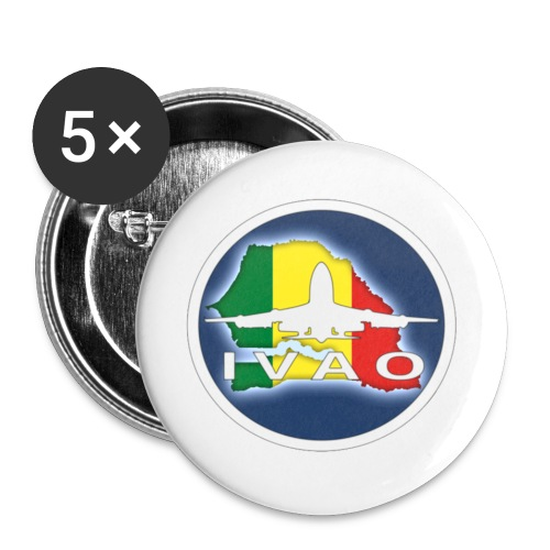 logosn (1) - Lot de 5 petits badges (25 mm)