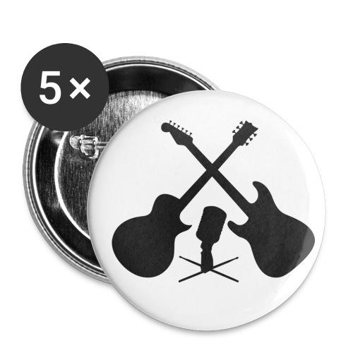 crossedgits 20cm - Buttons klein 25 mm (5er Pack)