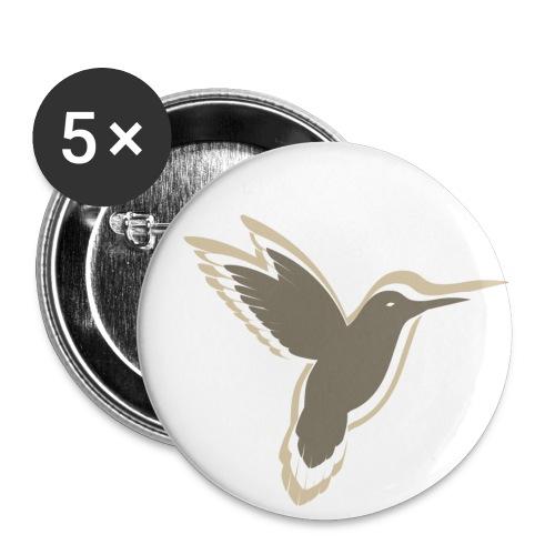 dekadent vogel - Buttons klein 25 mm (5er Pack)