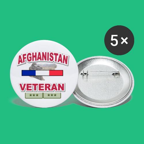 afghanistan - Lot de 5 petits badges (25 mm)