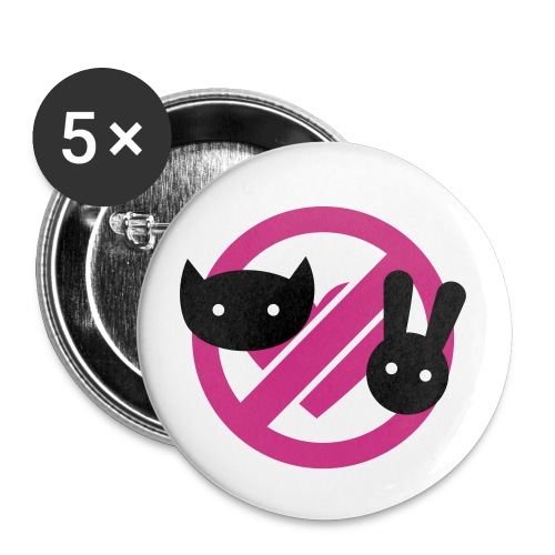 There She Is NO - Buttons small 1''/25 mm (5-pack)