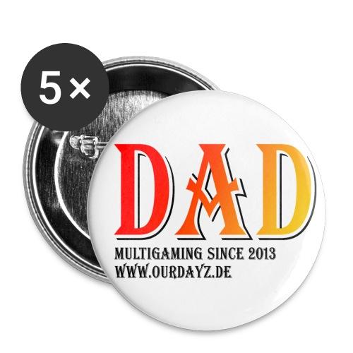 Logo 3 Black gif - Buttons klein 25 mm (5er Pack)