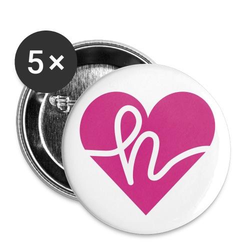 Hatr - Buttons klein 25 mm (5er Pack)