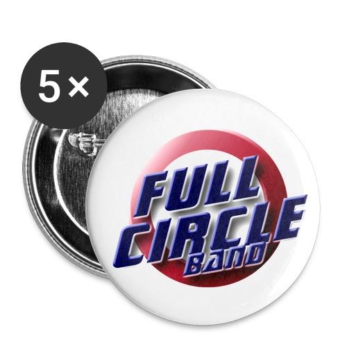 fcbandtee - Buttons klein 25 mm (5er Pack)