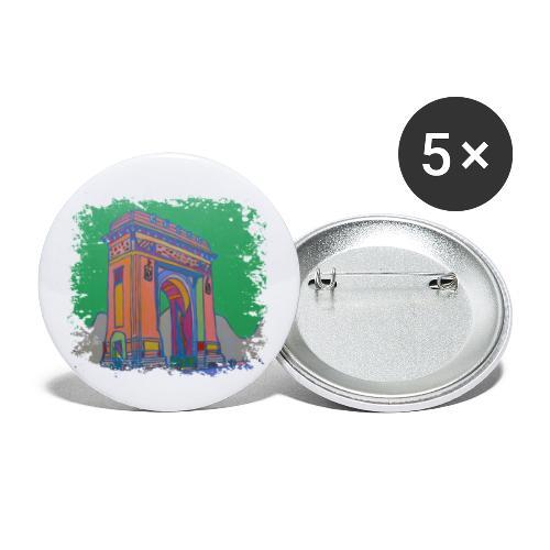 Bukarest - Buttons klein 25 mm (5er Pack)