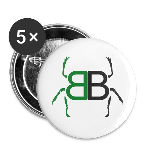 BB Merchandise - Buttons small 1''/25 mm (5-pack)