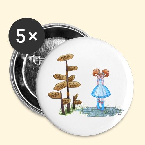 Nulle part - Badge petit 25 mm